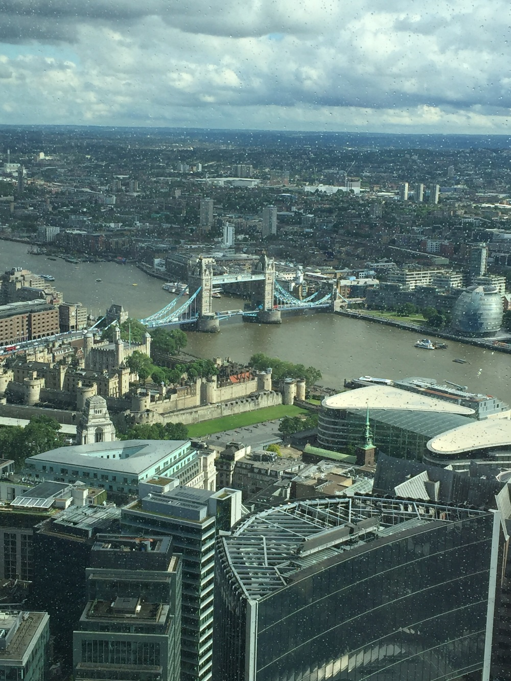 View from the Leadenhall Building, or more affectionately, the Cheesegrater.