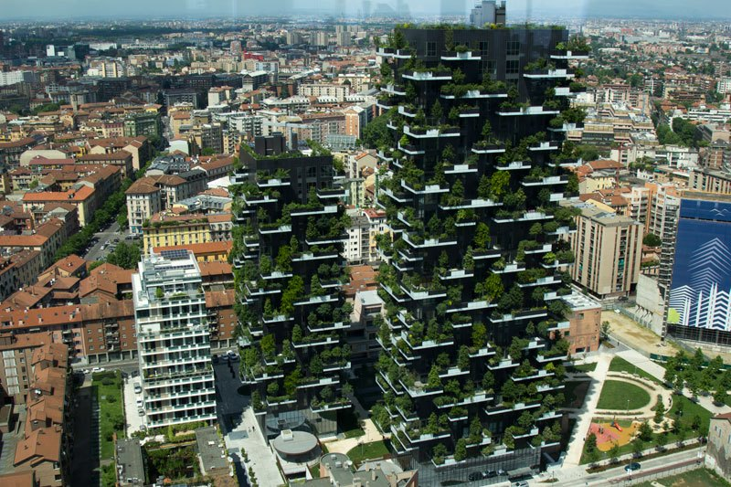 Milan, Bosco Verticale/Vertical Forest