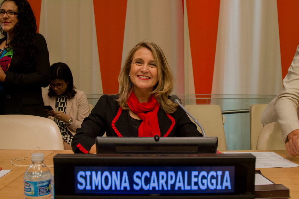 Simona Scarpaleggia, CEO of IKEA Switzerland, Co-Chair United Nations High-Level Panel on Women's Economic Empowerment