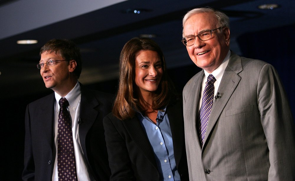 Bill Gates, Melinda Gates, Warren Buffet
