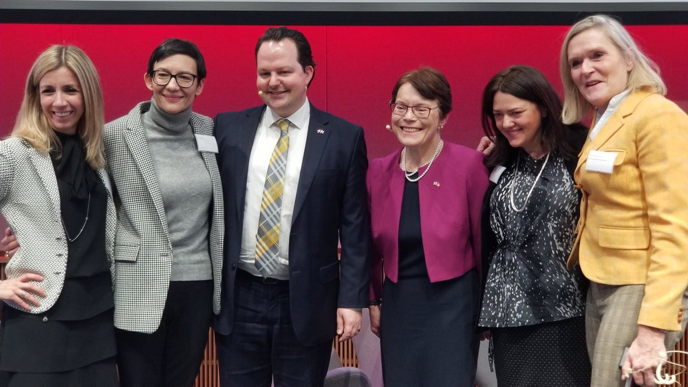 Manuela Andaloro, Maria Leistner, David Bundi, Catherine McGuinness, Angela Yore, Petra Arends-Paltzer