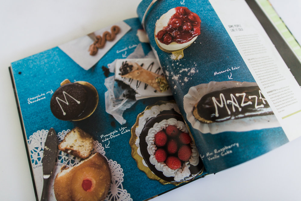 Amy created the photography for the new Mazzaro's cookbook, designed and published by Story Farm Publishing.