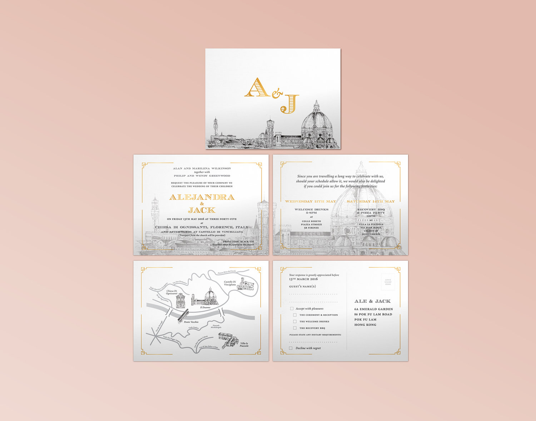Aj wedding invitation lunatic artworkg stopboris Choice Image