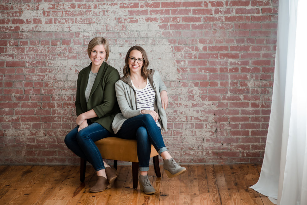 Doulas of Asheville co-owners (& sisters!) Elizabeth Pauley and Christine Robinson.