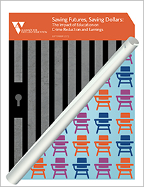 "Alliance for Excellent Education, ""Saving Futures, Saving Dollars: The Impact of Education on Crime Reduction and Earnings"" (Washington, DC: Author, September 2013), http://all4ed.org/wp-content/uploads/2013/09/SavingFutures.pdf (accessed March 15, 2016)."