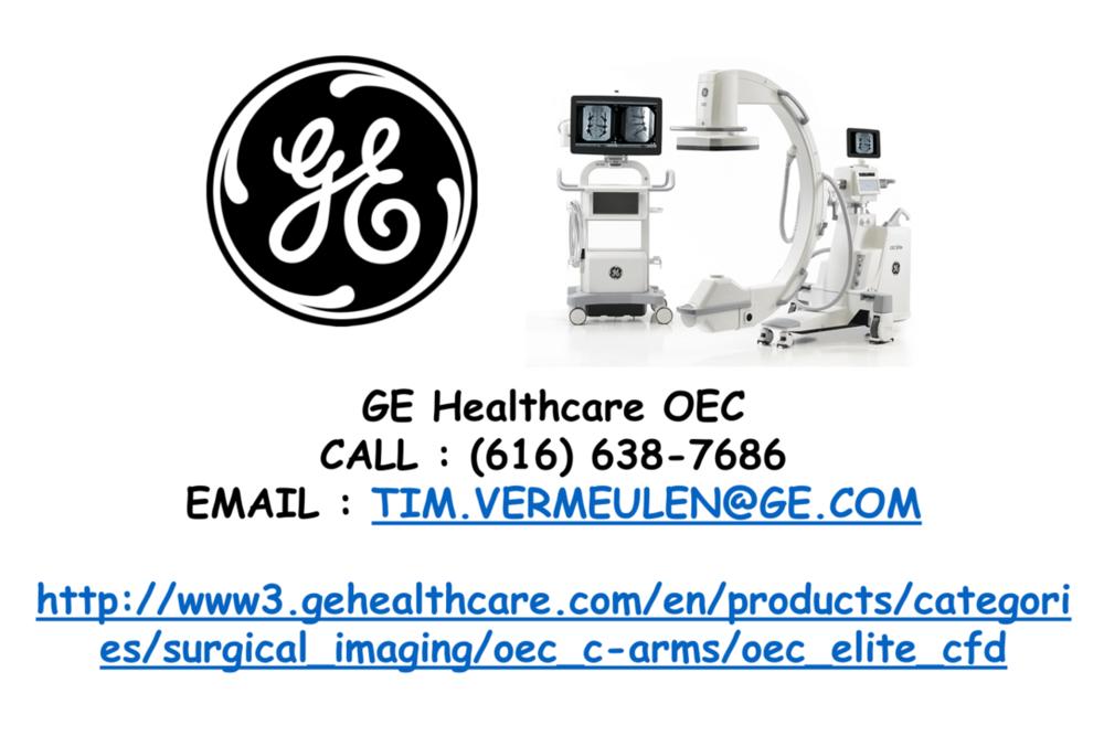 GE Healthcare oec