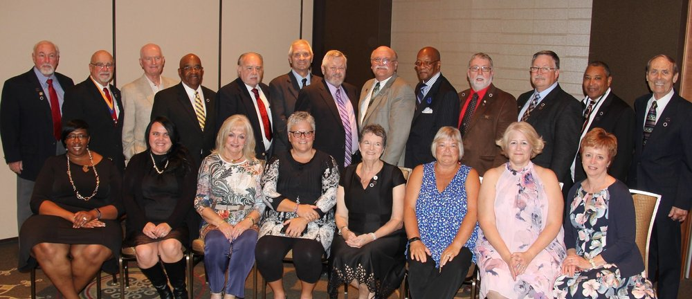 Past Presidents at 63rd annual meeting, 2108