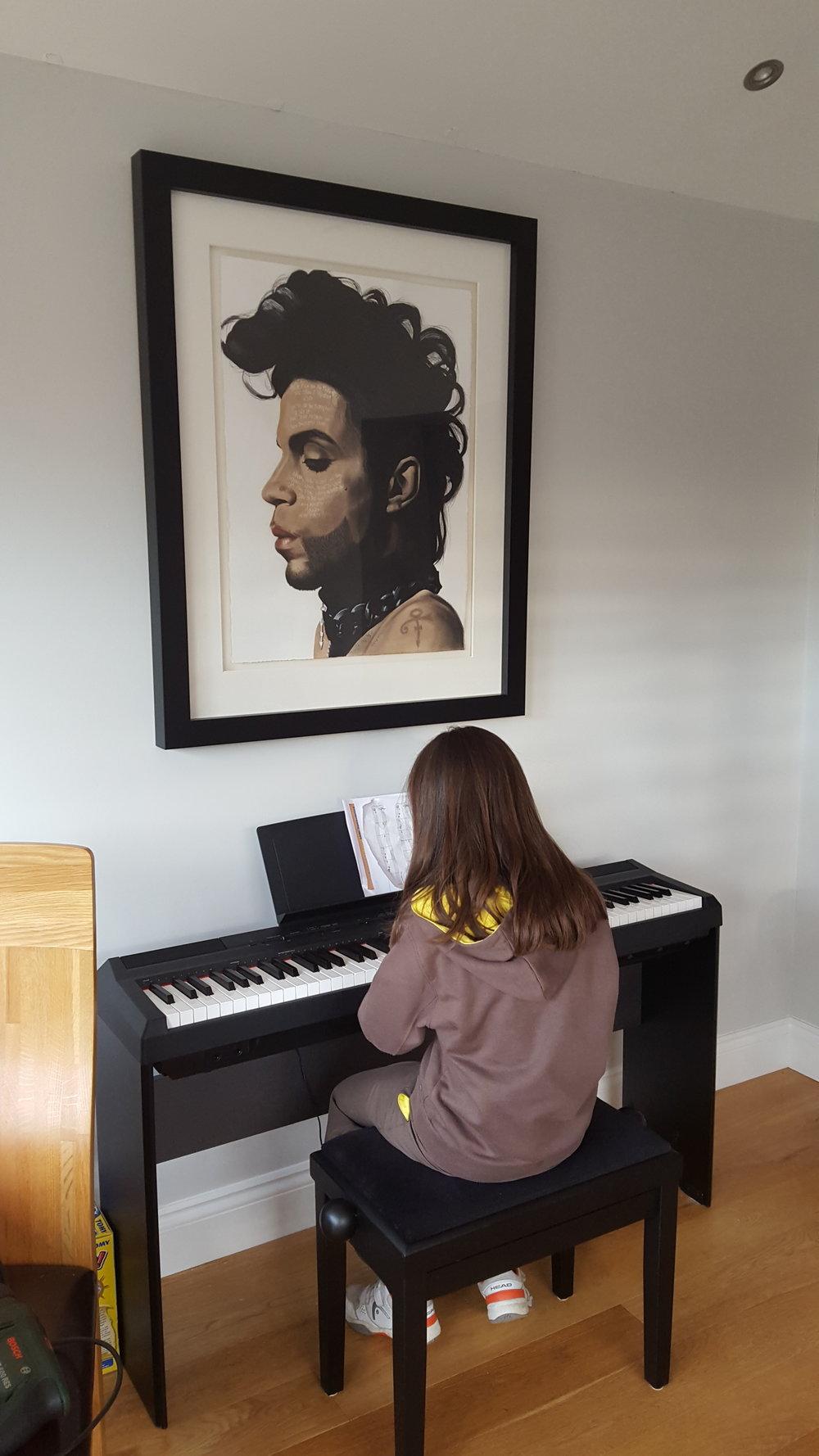 Prince at home
