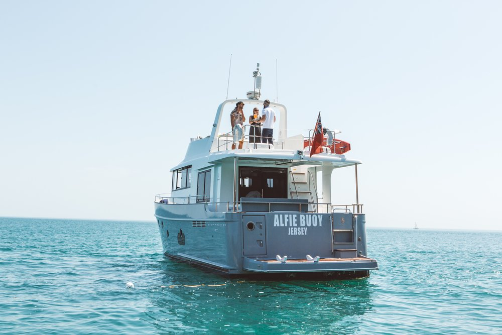 The 50-foot Beneteau Swift Trawler  2015