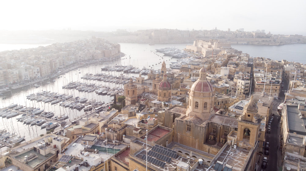THE MALTESE ISLANDS - 1st OCTOBER - WINTER
