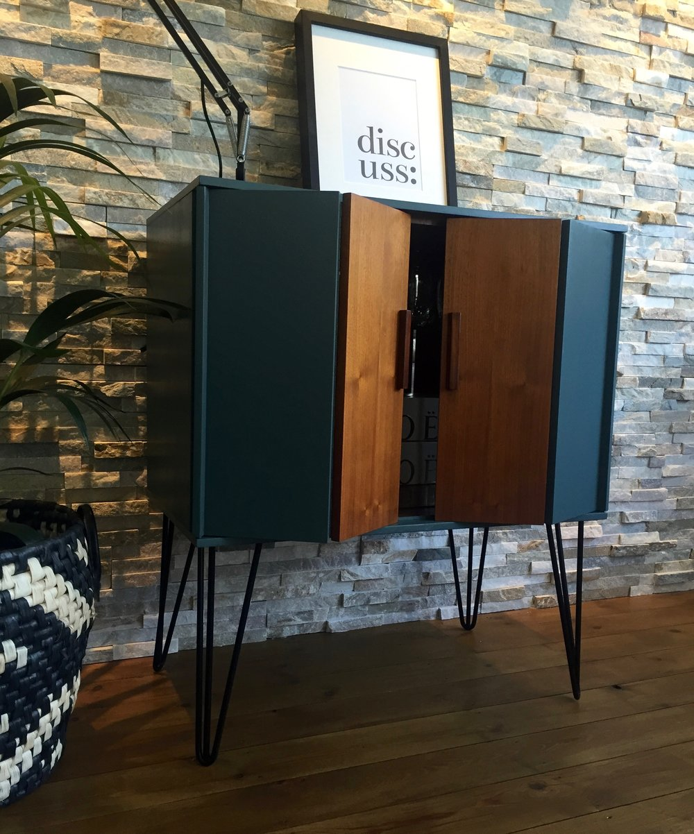 mid century cabinet hairpin legs inchyria blue folding doors.jpg