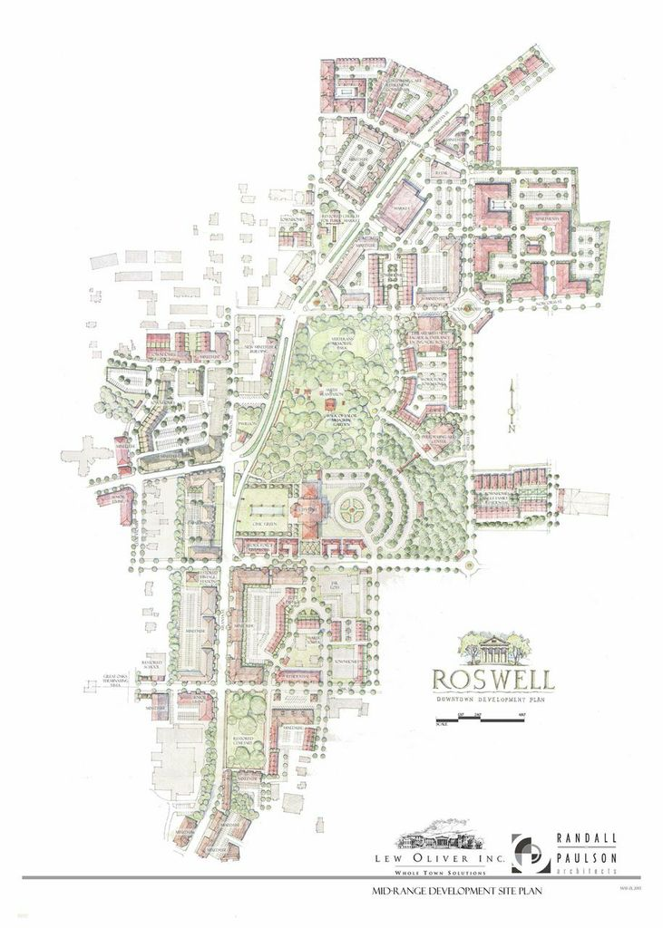 Mid Range Development Site Plan