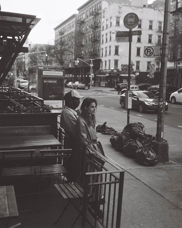 Ana and Dev in East Village this April #35mm