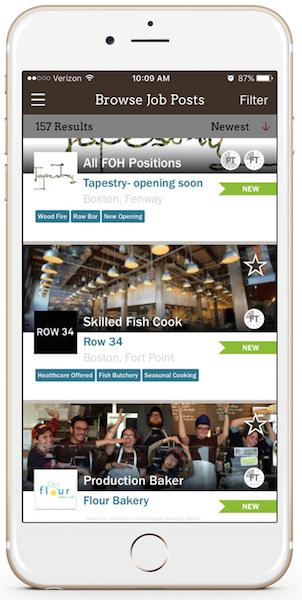Clothbound - Search Restaurant Jobs