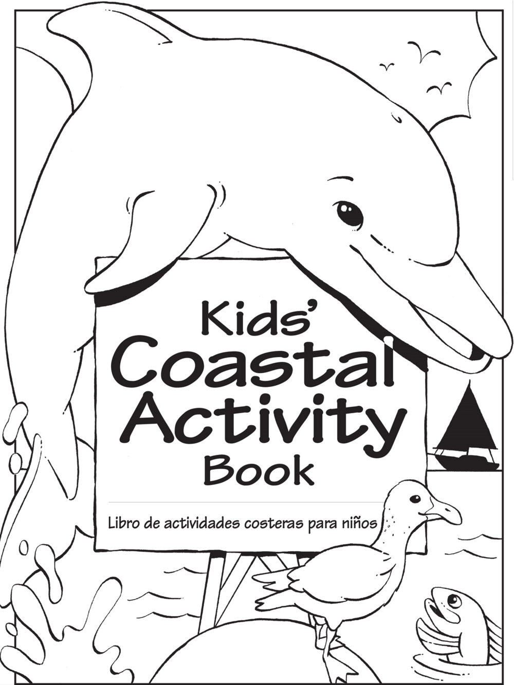Kids' Coastal Activity Book