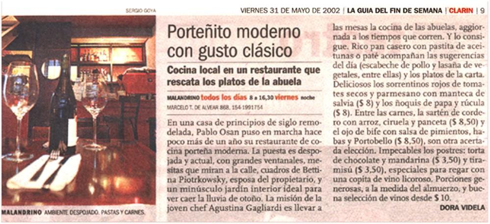 Clarín - MAY/2002