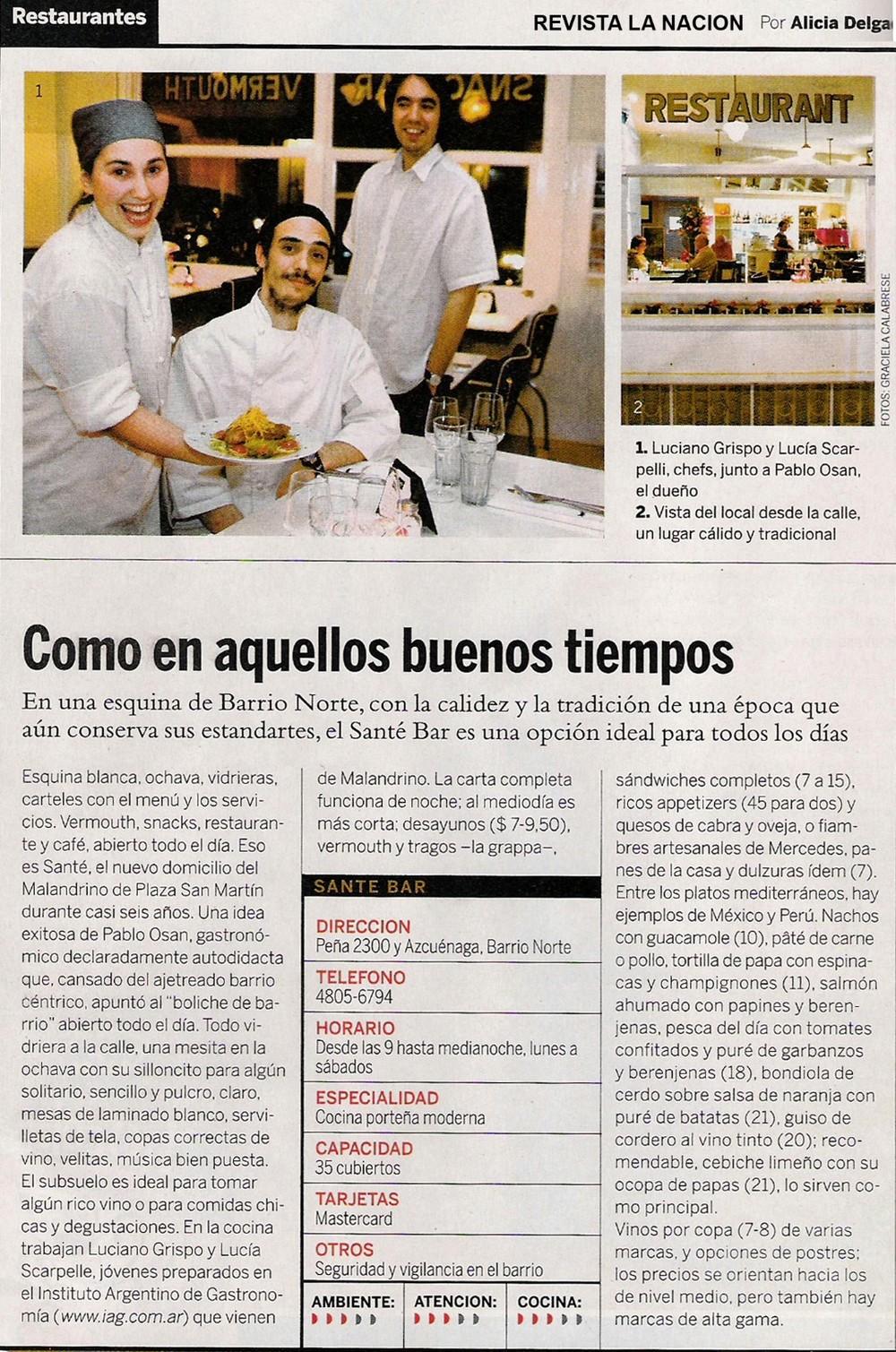 Revista La Nación - OCT/2007