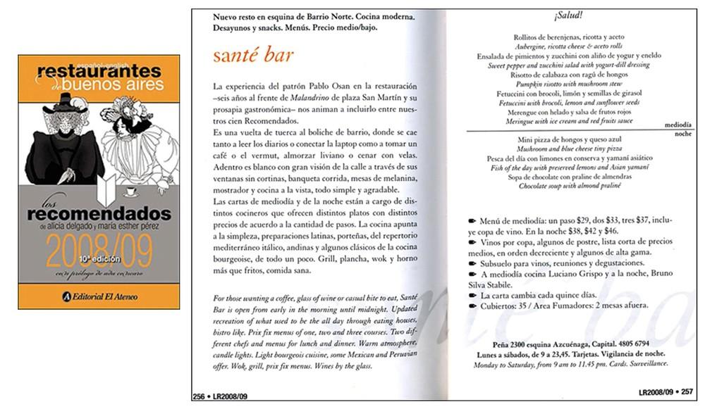 Los recomendados 2009