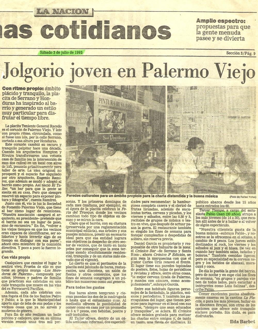 La Nación - JUL/1993