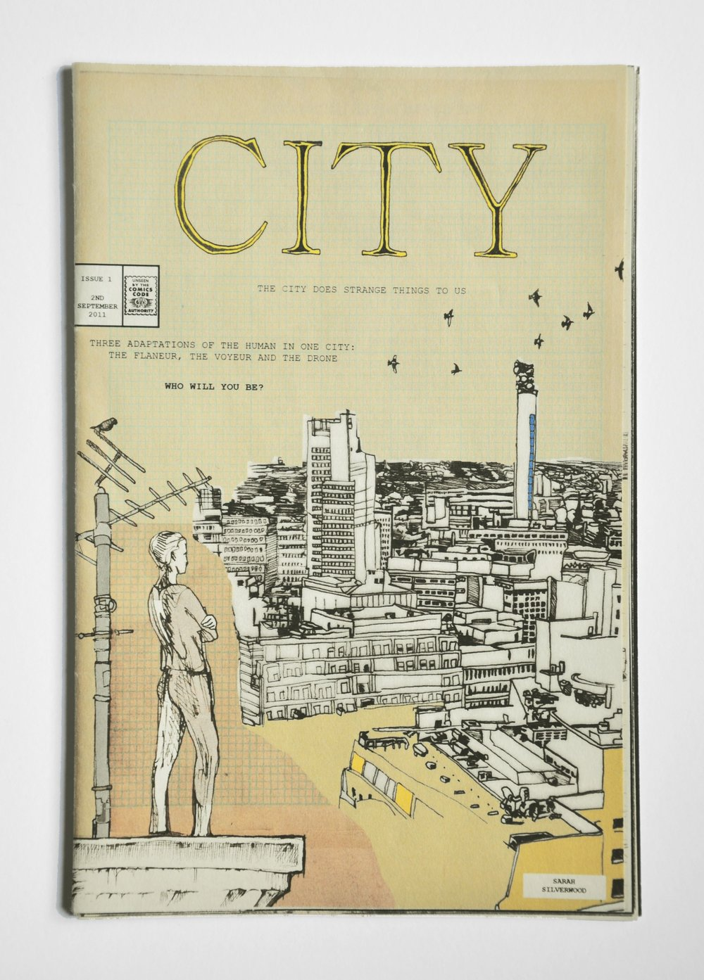 CITY, 2011. Limited print run of 1000. Sold out.