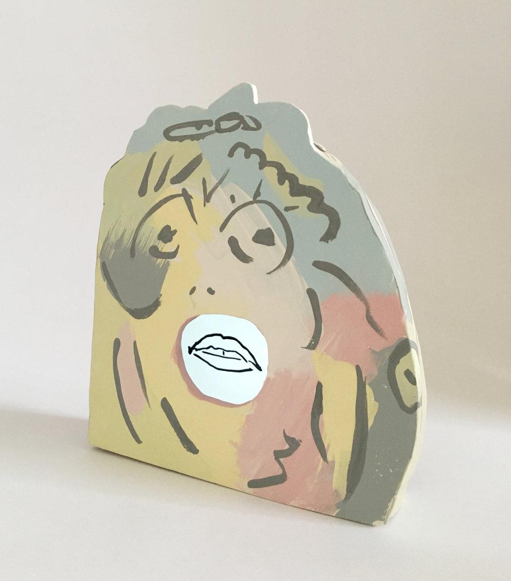 F.U. Vase [studio test], Animation and Ceramic, 2018, 10 x 15 x 5cm