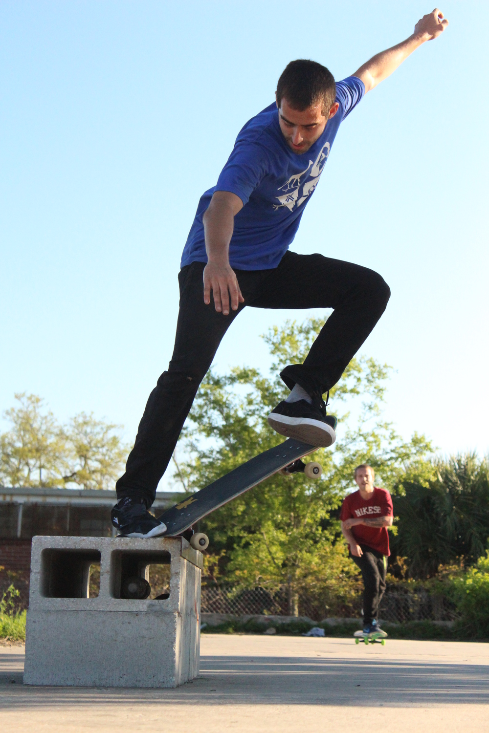 Whats a crookie grind without a little tweak? Robert