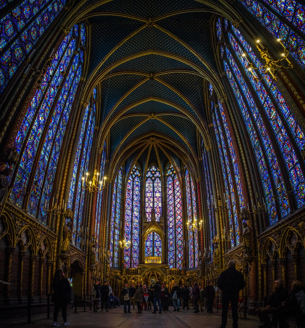 Sainte-Chapelle, Paris - France