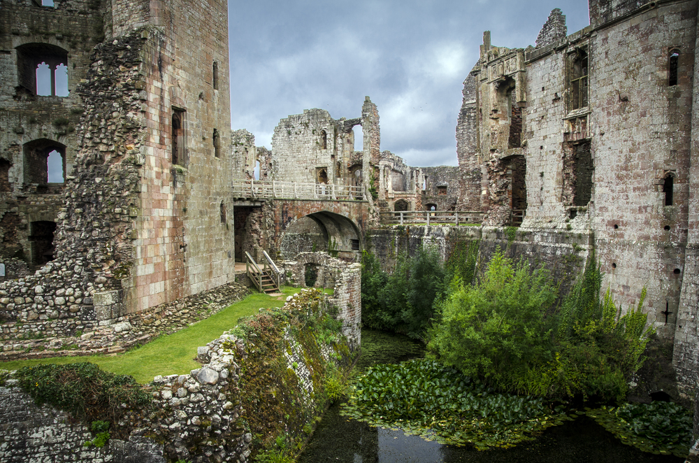 Raglan Castle, Monmouthshire - Wales