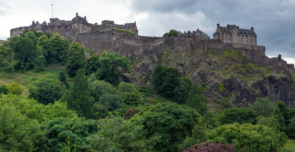 Scotland - Edinburgh castle