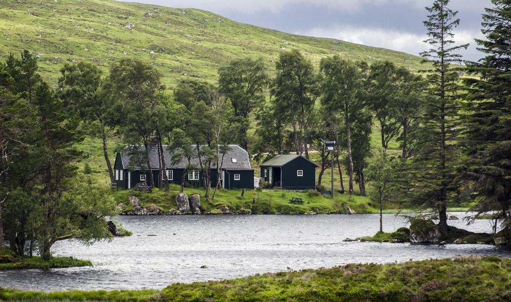Loch Ossian, Scotland