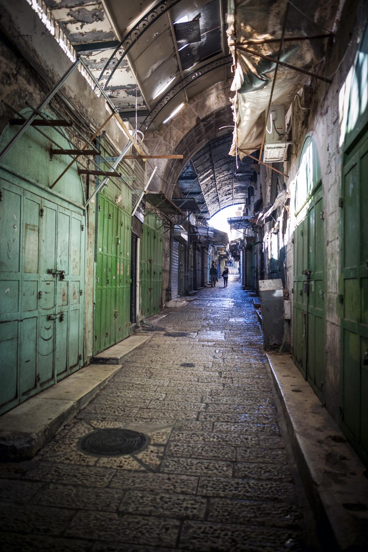Bazaar streets, Jerusalem - Israel