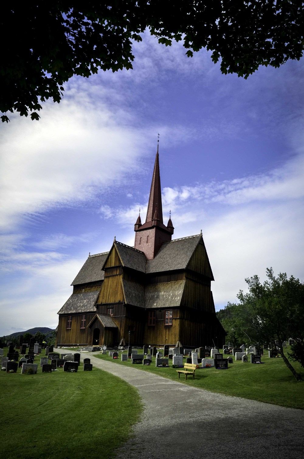 Ringebu stave church, July 2015
