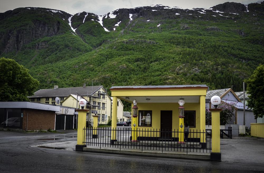 Old town, Mosjøen