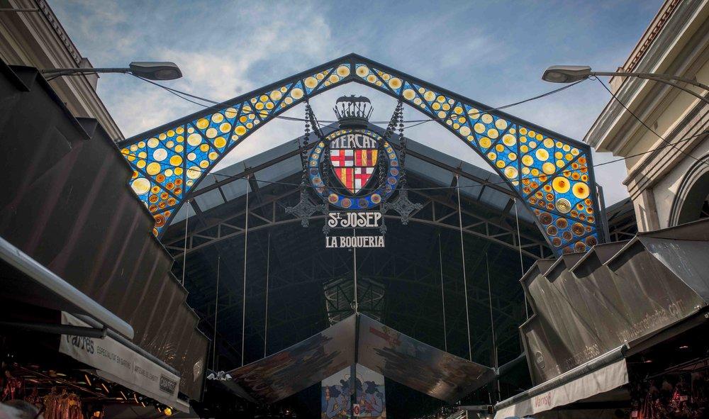Mercado de La Boqueria,Barcelona