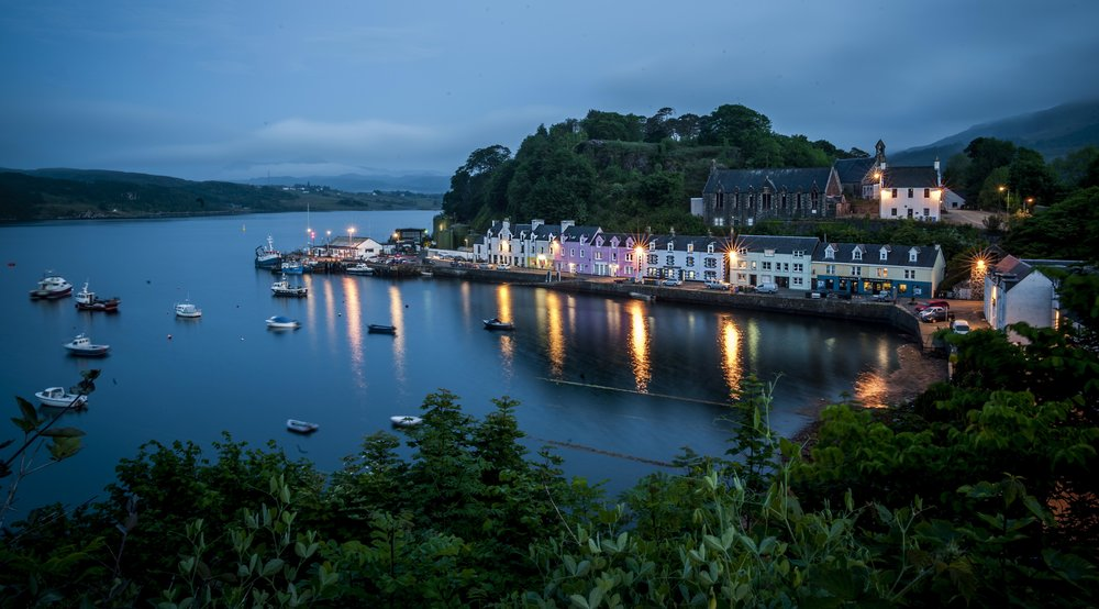 Portree, Isle of Skye - Scotland