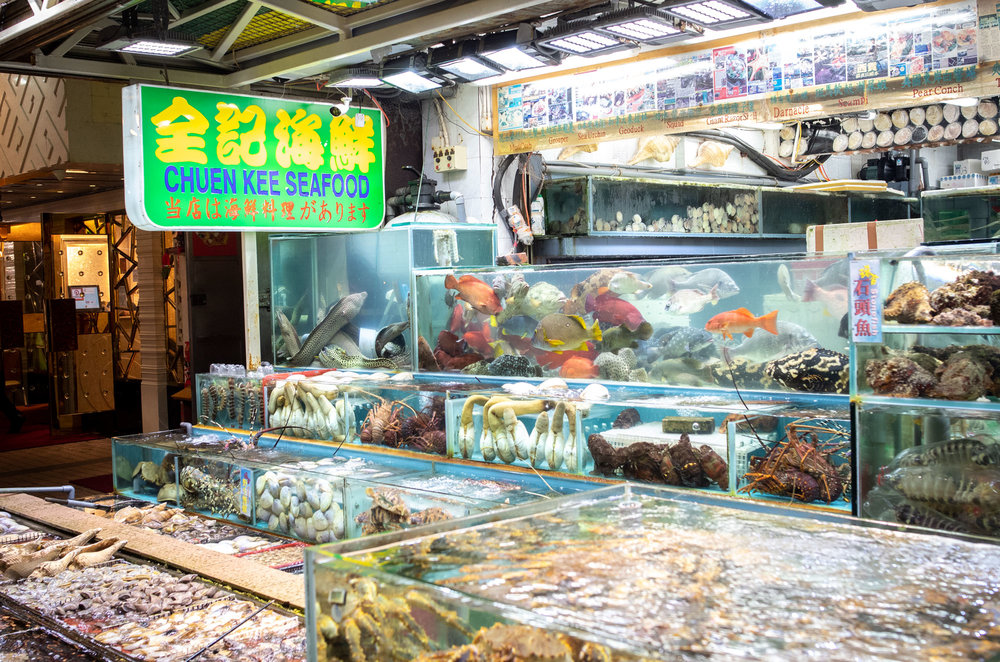 Seafood restaurant Sai Kung