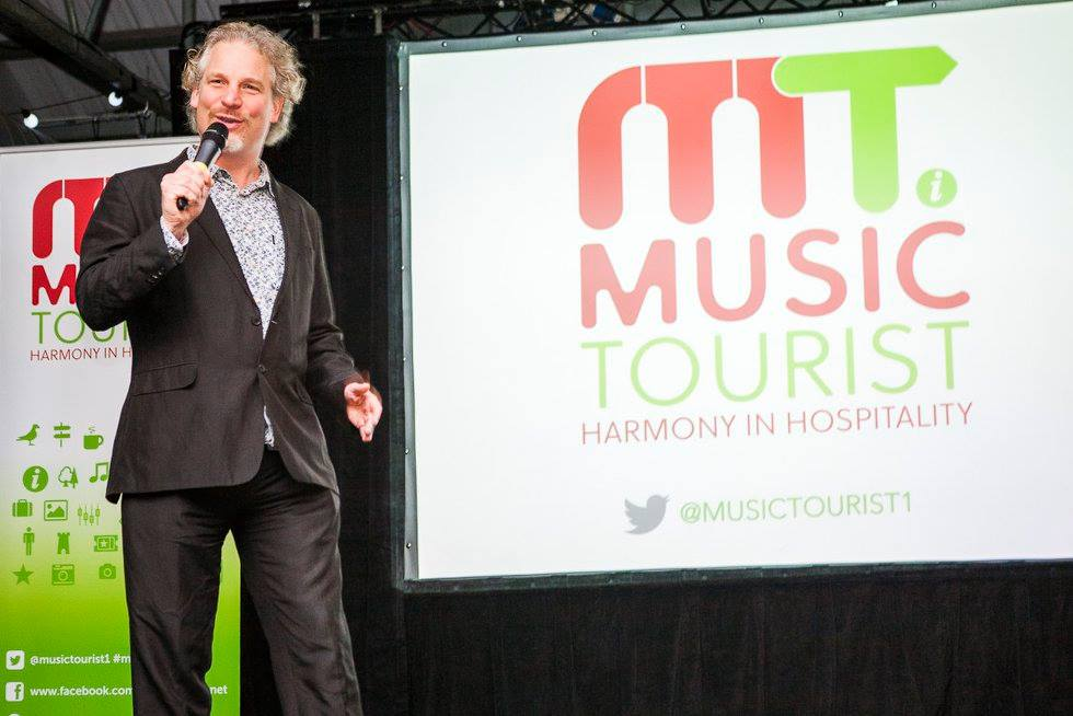 Founder Olaf Furniss opens the the world's first Music Tourist Summit. View the event albums on our Facebook page. (pic Jannica Honey)