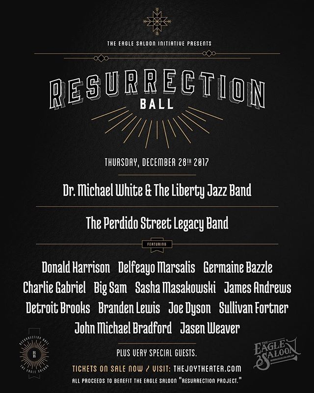 ✨🦅 ✨Celebrate the Holidays and the rich history of our city together for an incredible cause featuring a world class lineup of musicians. Pick up your tickets at the Joy box office or online at www.thejoytheater.com #preservation #history