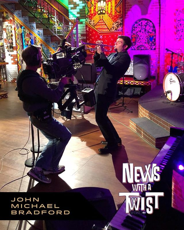"We'll be on WGNO ""News with a Twist"" promoting ""Resurrection Ball"" w/ @johnmichaelbradford and Ambassador @rfertel tonight. The show airs at 5pm & 6pm CST! Tickets for show are available at www.thejoytheater.com / See John Michael and many more including Dr. Michael White, Delfeayo Marsalis and Donald Harrison w/ special guests. All proceeds benefit the Eagle Saloon Resurrection Project."