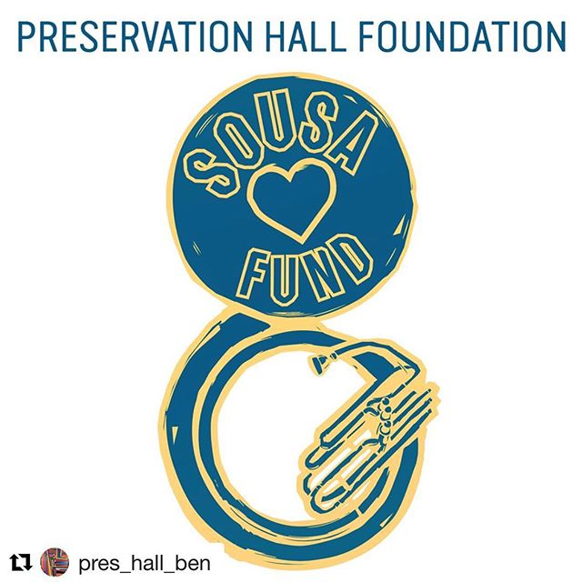 "⚡️👊🏼⚡️ The power of music. Invest in something real. #Repost @pres_hall_ben with @get_repost ・・・ Supporters of the band worldwide reached out with offers to help us recover my missing sousaphone tuba. The outpouring of concern and love was overwhelming. It took an entire village and is a testament to the strength of our beautiful community.  It worked!! Happily, the horn found its way home... One of the challenges for aspiring bass and tuba players is the cost of professional quality instruments. It is oftentimes a barrier to pursuing their dreams. In response to the loss of my instrument, so many reached out with offers to replace my horn. I wanted to harness this heartfelt enthusiasm to put instruments into the hands of aspiring musicians.  While we were in Austin last week for SXSW, I learned about one of the victims of the Austin package bombings, Draylen Mason. Draylen was a young African-American bass and tuba player; he was only 17 years old with a bright future. Draylen had recently been accepted into several prestigious collegiate music programs. As a fellow bass and tuba player, I am inspired by his life and pained by this senseless crime. In order to support students like Draylen, the Preservation Hall Foundation is creating the ""SousaFund,"" designed to provide instruments and educational support to young African-American music students.  I am asking all who contacted us with offers of support to direct your attention to this fund. The members of the Preservation Hall Jazz Band will be making the first donation in the memory of Draylen Mason. Please join us in providing a brighter future for the next generation of musicians. You can donate to the fund by visiting: bit.ly/sousafund. The link is also in my bio..... We can do this!!! Ben Jaffe  #keepyourheadup"