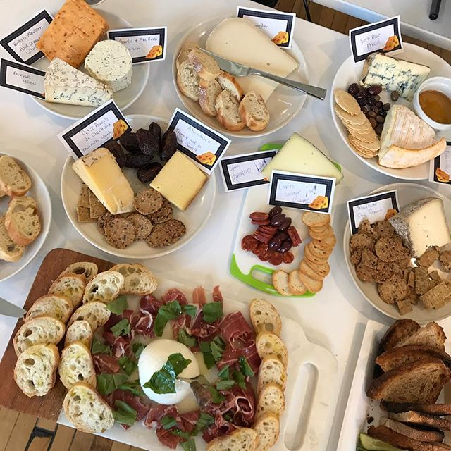 Episode 2 of Cheese Club — went a little overboard. #lifeatconversion