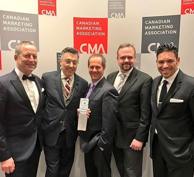 Our award-winning @lcbo team at the #CMAgala! Congrats on taking home Silver for #directengagment!