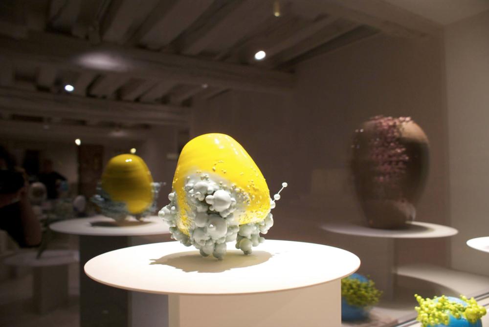 exhibition view,  Ninfe , Francesco Ardini, 2014, OHMYBLUE, Venice, Italy, photo: OHMYBLUE