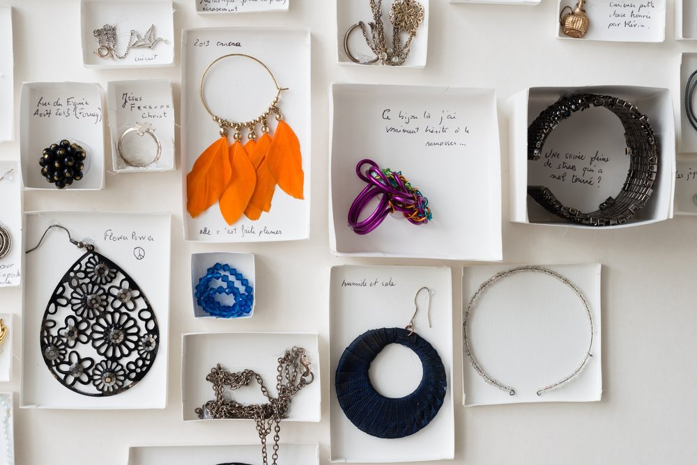 Galatée Pestre, Found Jewelry Collection, installation view