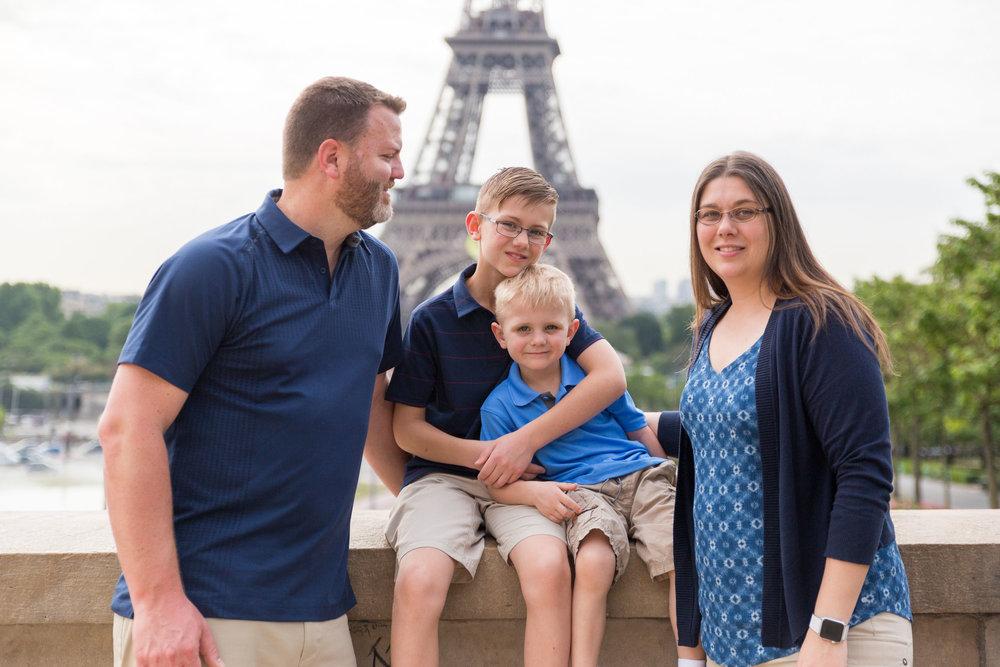 AARON & FAMILY