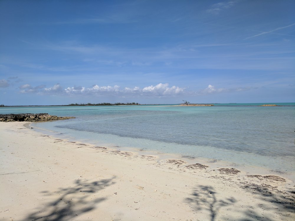 Beach at Saddleback Cay