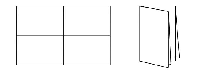 8 panel brochure