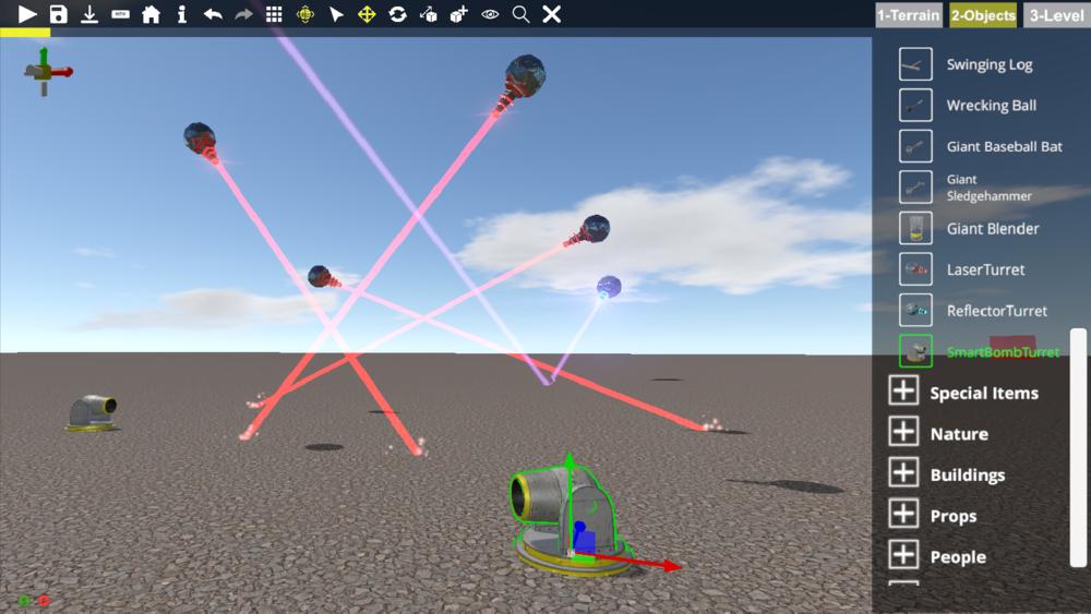 Laserrrrrrrrrrrrzzzzzzz and SmartBomb Turrets