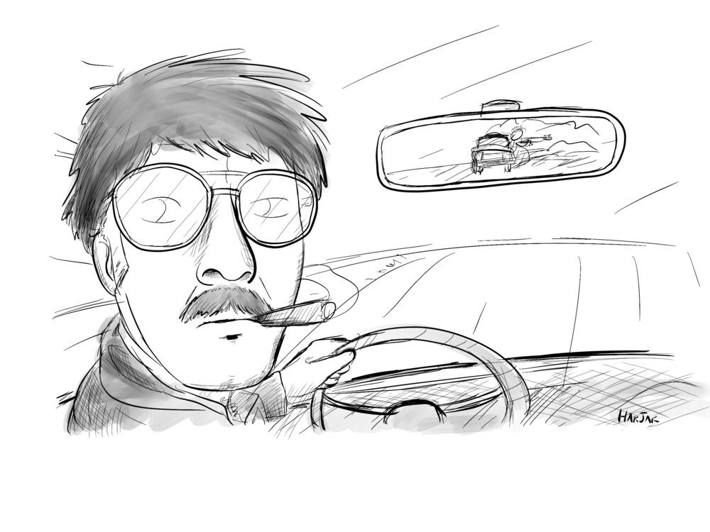 Pedro, a favored getaway driver for The Cartel... or at least he used to be