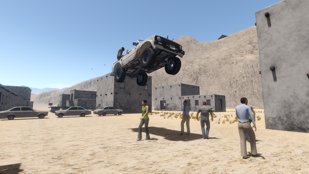 gringo jumping
